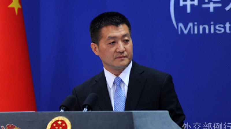 His remarks came in response to the India-US joint statement issued after the talks between Prime Minister Narendra Modi and US President Donald Trump. (Photo: China MoFA)