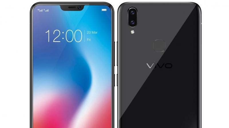 Vivo launched the V9 in India on March 23, 2018, and has priced it at Rs 22,990.