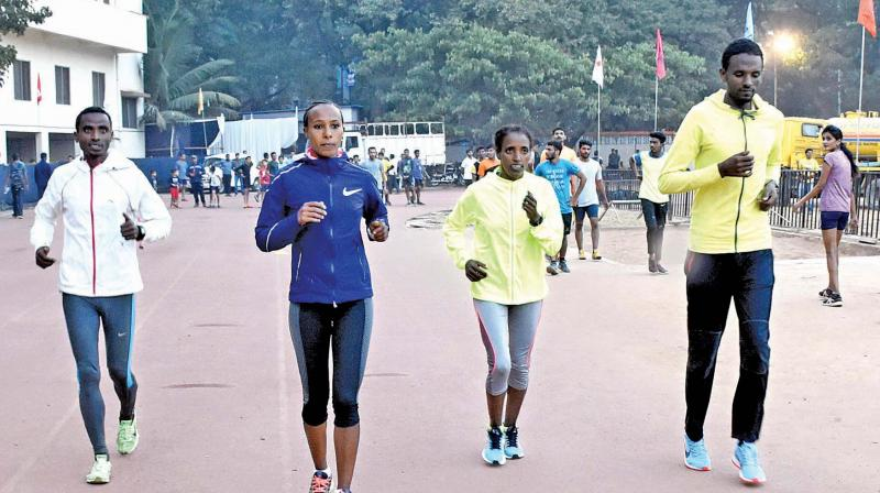 After a few hiccups, Pune International marathon will be flagged off on Sunday with Ethiopian and Kenyan athletes leading the charge.