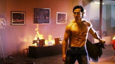 Tiger Shroff in a still from 'Baaghi.'