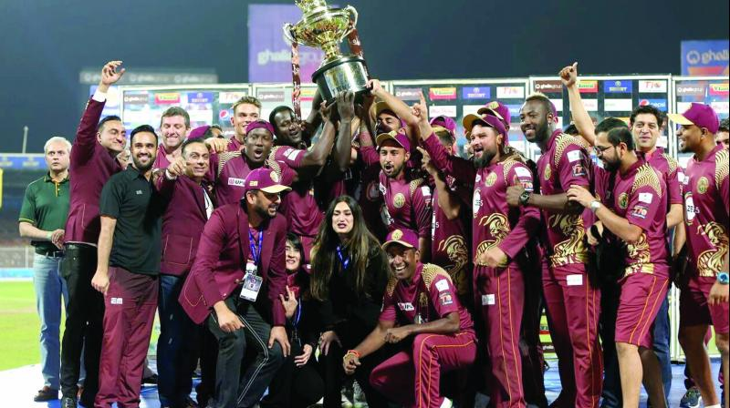Northern Warriors won the second season of the T10 League at the Sharjah Cricket Stadium on Sunday.