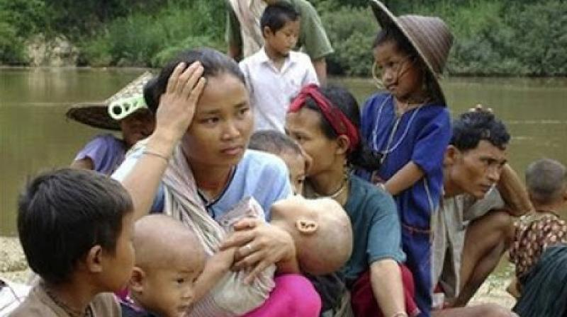 It is significant that the Mizoram government had also issued guidelines directing officials to provide shelter to those coming from Myanmar after the violence. (Representational image: Twitter/@APRRN_)