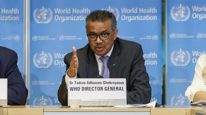 WHO Director General Tedros Adhanom Ghebreyesus (Image source: AFP)