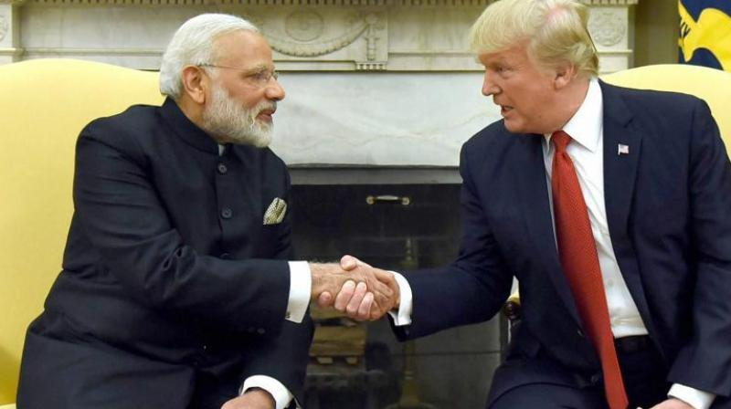 During the phone call, Trump welcomed the first-ever shipment of American crude oil to India, which will begin this month from Texas. (Photo: PTI)
