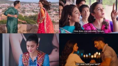 Screengrabs from the trailer of 'Badrinath Ki Dulhania'.