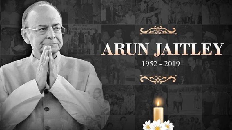 Former Union Finance Minister Arun Jaitley (Photo: Twitter)
