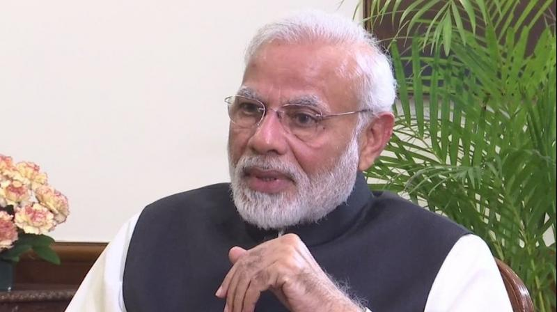 Addressing the media he said, 'Today, the country is observing the proceedings of the Parliament. The MPs should hold a meaningful debate in this session of Parliament. We are eager to hold a debate on all important issues.' (Photo: ANI | Twitter)