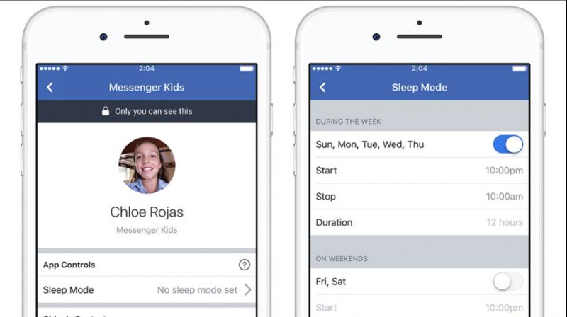Parents have reported that they like how Messenger Kids allows them to fully control the contact list and check in on their child's messaging as they're learning to navigate the digital world.
