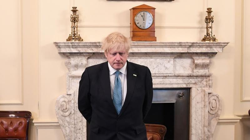File image of UK Prime Minister Boris Johnson. (AFP)