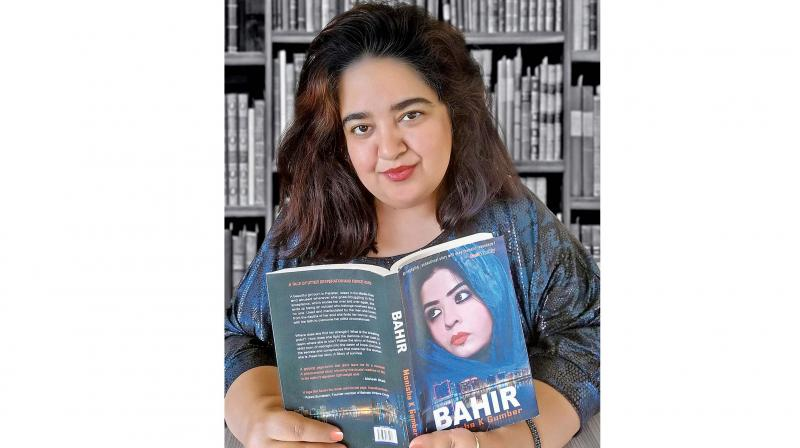 Monisha K Gumber's book Bahir is the inspiring story of an abused woman in the Middle East, who fights all odds to survive and succeeds.