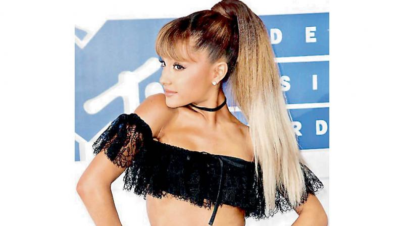 Singer Ariana Grande.