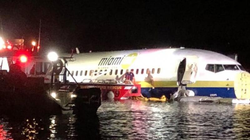 The flight was arriving from Cuba. (Photo:Twitter @JSOPIO)