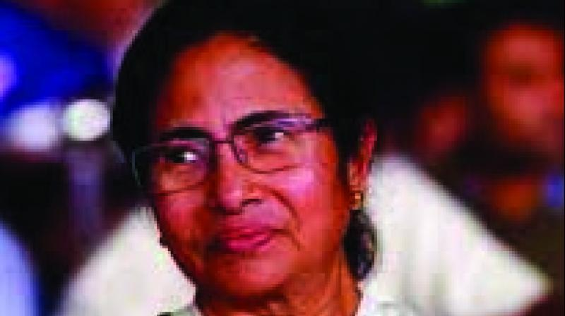West Bengal chief minister and TMC supremo Mamata Banerjee