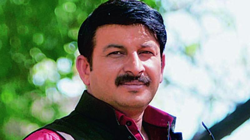 Manoj Tiwari was appointed as the state party chief on November 30, 2016. (Photo: File)