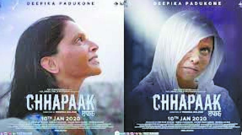 Deepika Padukone-starrer, Chhapaak's poster.