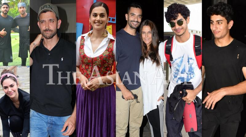 Stars in the city: Hrithik, Ranbir, Taapsee and others spotted in Mumbai