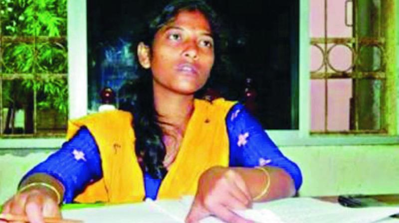 Teacher Itishree Pradhan whose murder has remained a mystery.