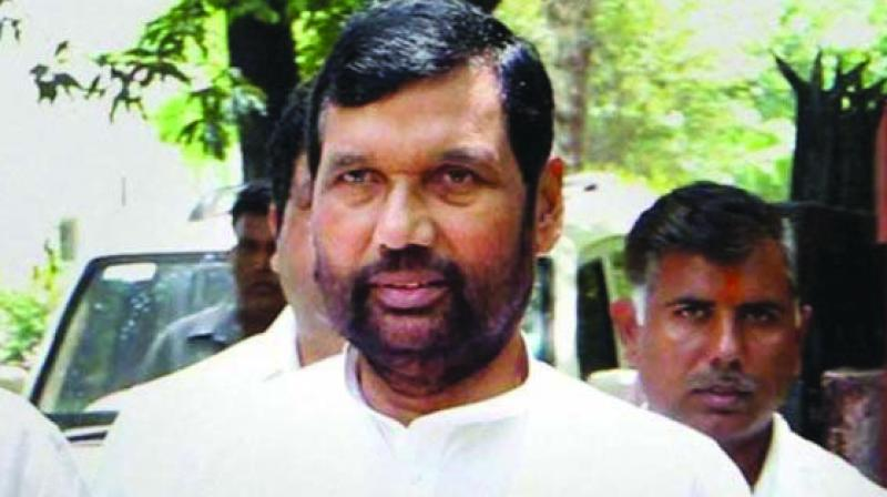Food and Consumer Affairs Minister Ram Vilas Paswan asserted that provisions will also be made while framing rules and regulations under the recently enacted Consumer Protection Act to crack down on such cases. (Photo: File)
