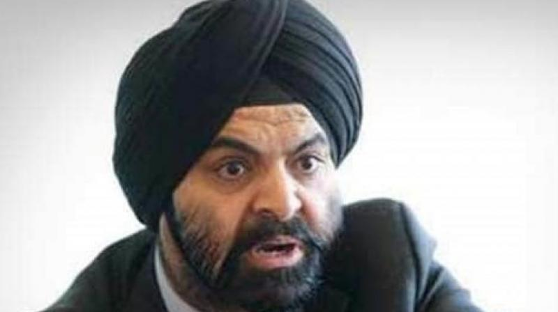 Mastercard CEO Ajay Banga (File photo)