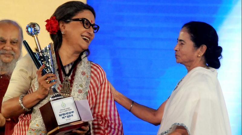 'I do not think the CM is totally wrong. I can understand that the opposition is trying to gain an advantage of the situation,' filmmaker Aparna Sen also said. (Photo: Abhijit Mukherjee)