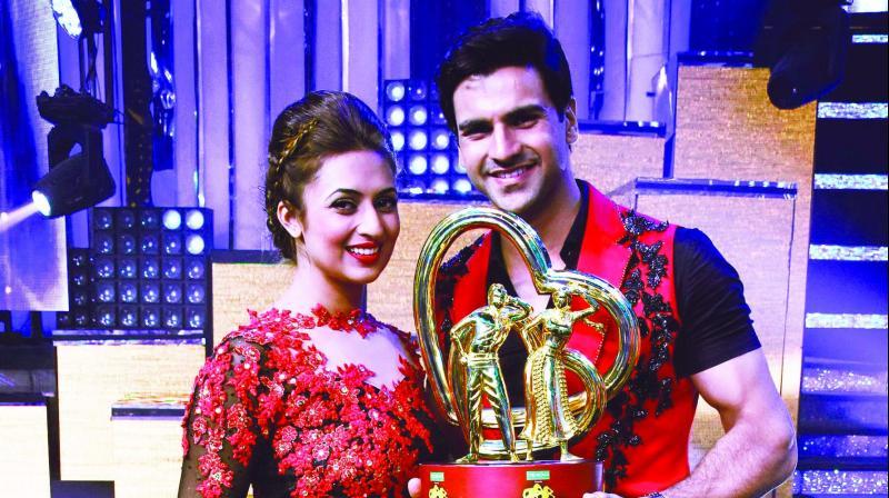 Divyanka Tripathi and Vivek Dahiya (Photo: Viral Bhayani)