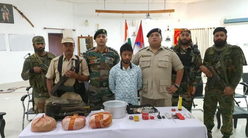 The operation was jointly led by Tinsukia police, 210 Cobra Battalion team, 68 Battalion of Central Reserve Police Force with 23 Punjab Battalion Army, 21 PARA(SF). (Photo: ANI)