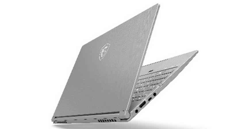 The laptop comes with an incredibly slim chassis.