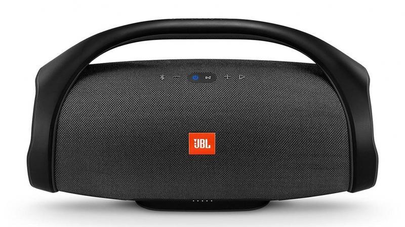 An imposing sized Bluetooth speaker.