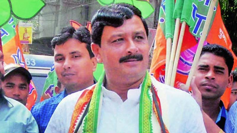 BJP national secretary Rahul Sinha