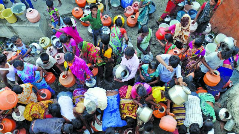 At present, 4,774 tankers have been sent to 12,116 villages, up from 4,640 tankers sent to 9,579 villages in 2016.