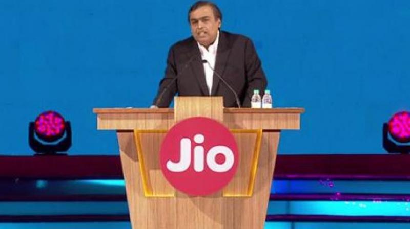 Reliance Industries' Chairman and Managing Director Mukesh Ambani.