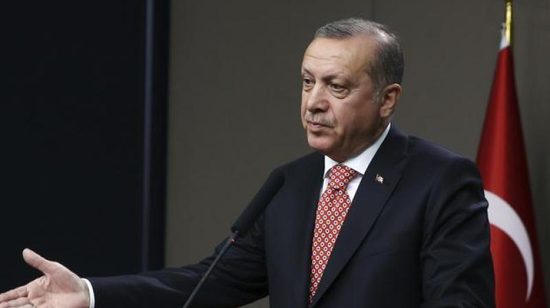 Erdogan, who was elected to the top post in 2014 after serving as prime minister for more than a decade, is seeking a strong presidency similar to France or the United States. (Photo: AP)