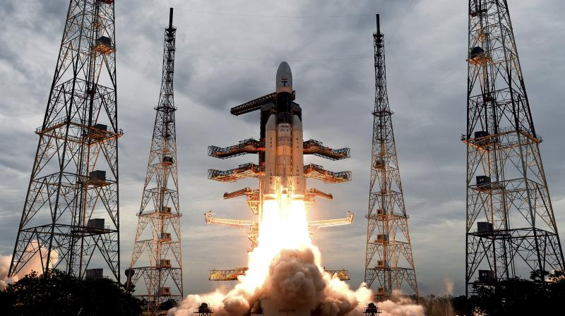 In a significant milestone for India's Moon mission, ISRO will fire Chandrayaan 2's liquid engine on Tuesday to insert the spacecraft into a lunar orbit. (Photo: File)