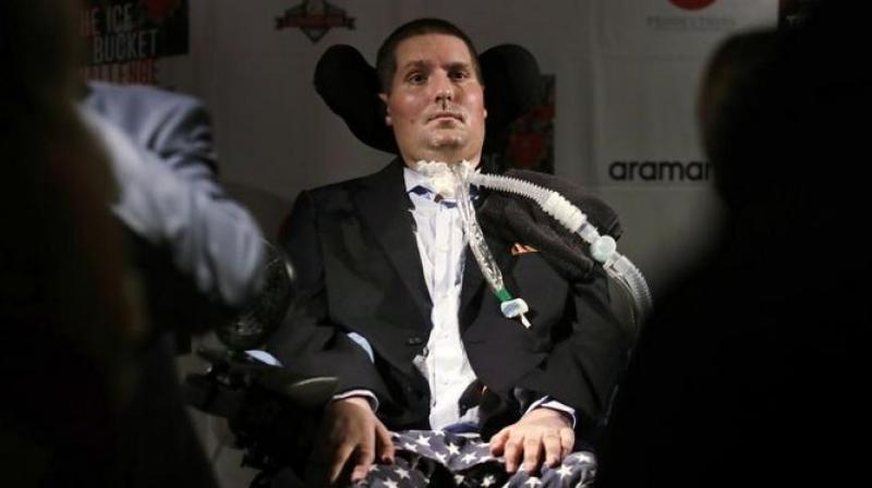 A one-time college athlete from the Boston area, Pete Frates' struggle with ALS, also known as Lou Gehrig's disease, was one of the inspirations behind the ice bucket challenge which took social media by storm in 2014. (Photo: AP)