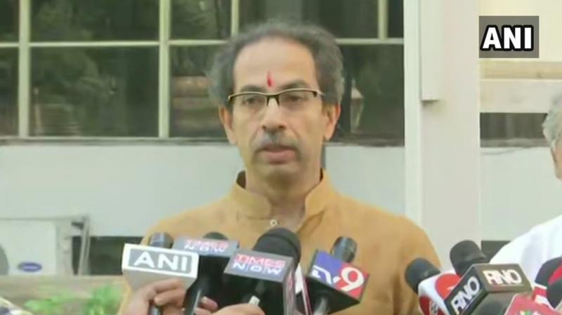 The Sena supported the Bill in the Lower House. Thackeray told reporters here that a detailed discussion and debate on the Bill was necessary. (Photo: ANI)