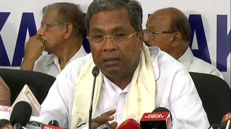 JD(S)-Congress Coordination Committee chief Siddaramaiah on cabinet reshuffle. (Photo: File)
