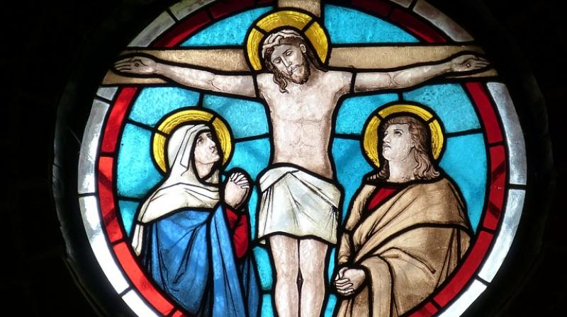 The article says scenes of the crucifixion contrast the power and control of the Romans against the forced submission of their prisoner, while hinting at further sexual violence in store. (Photo: Pixabay)