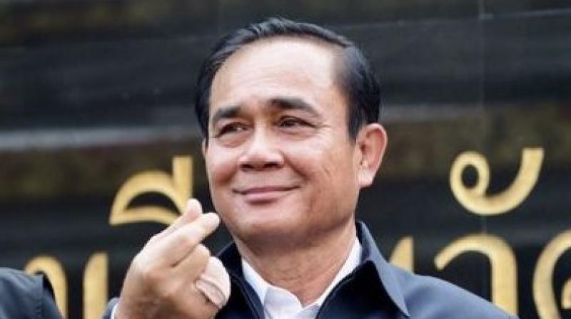 Thailand premier Prayut Chan-O-Cha. (Photo: Twitter)