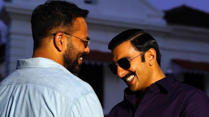 Rohit Shetty and Ranveer Singh.