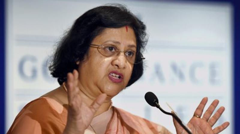 SBI chief Arundhati Bhattacharya.