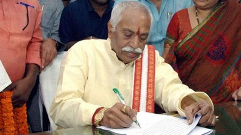 Union Minister Bandaru Dattatreya