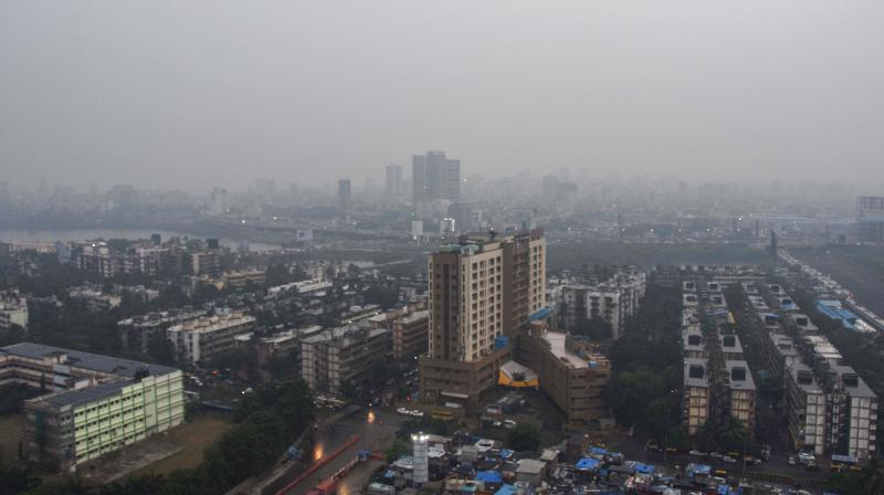 View of Mumbai city skyline. Large parts of the financial capital reported major power outage on Monday morning due to a technical failure. (PTI)