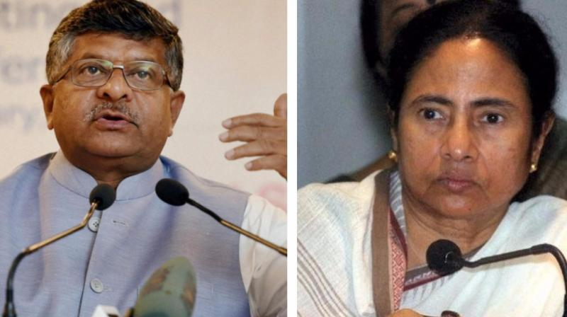 Union minister Ravi Shankar Prasad reminded West Bengal CM Mamata Banrjee of her struggle during the Left rule, claiming she cannot stop the march of democracy and people will support the saffron party.