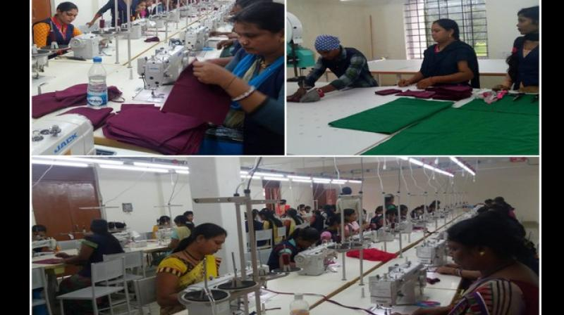 At present, women working in this factory receive an income of Rs 3000 every month. Not only that, an increment will also be given in the beginning of January. (Photo: ANI)