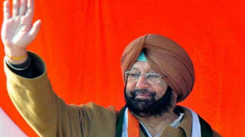 Capt. Amarinder Singh, the Punjab Congress president