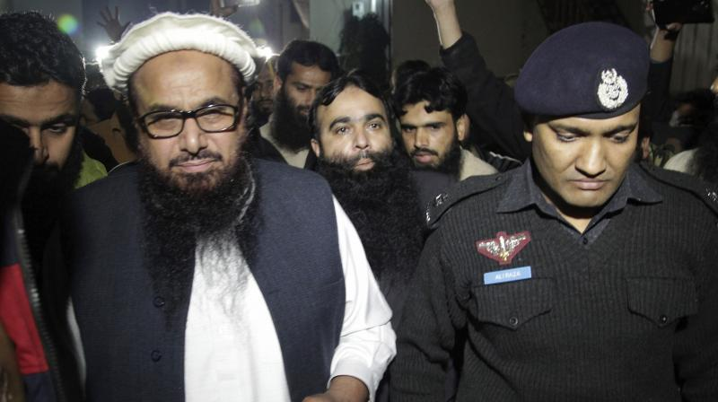 Jamaat-ud Dawah chief Hafiz Saeed. (Photo: AP)