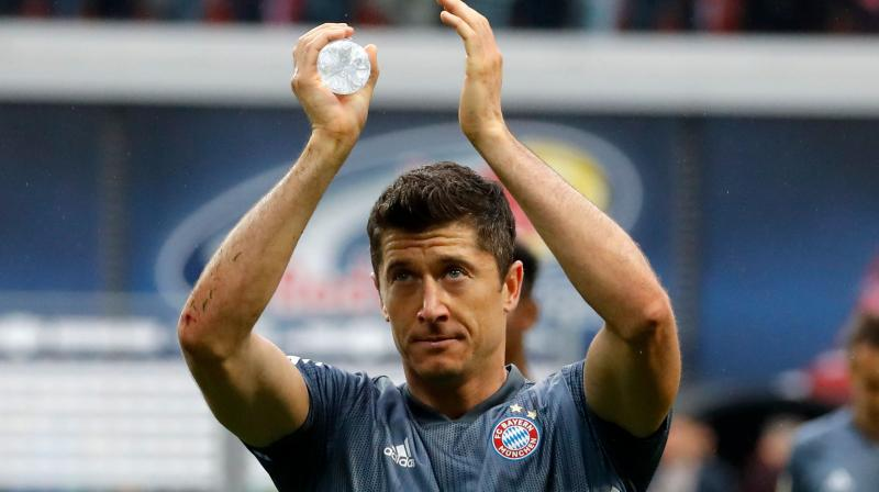 The 30-year-old Polish striker has scored 189 goals in 240 games for Bayern since joining in 2014 and has consistently been linked to Europe's biggest clubs. (Photo: AFP)
