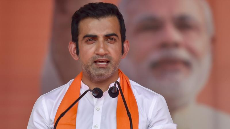 Gambhir is of the view that Rahul is the best-suited batsman to play at number four position, considering his technique. (Photo: PTI)