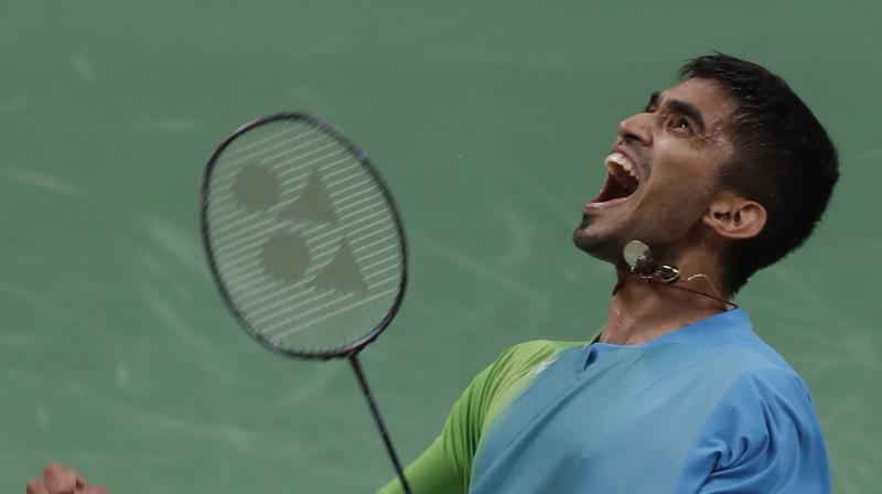 Kidambi Srikanth beat Indonesia's Anthony Ginting 21-13,21-14 to face Sai Praneeth in the finals. (Photo: AP)