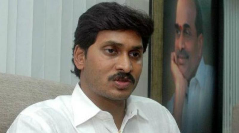 YSRC chief Y.S. Jagan Mohan Reddy